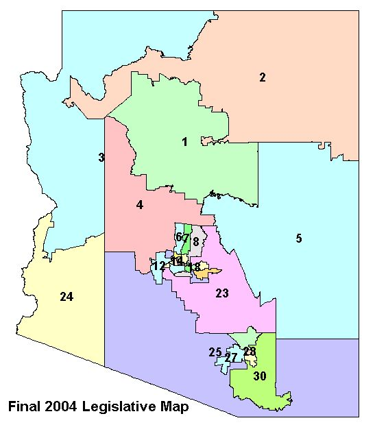 Precleared LD Map  Independent Redistricting Commission