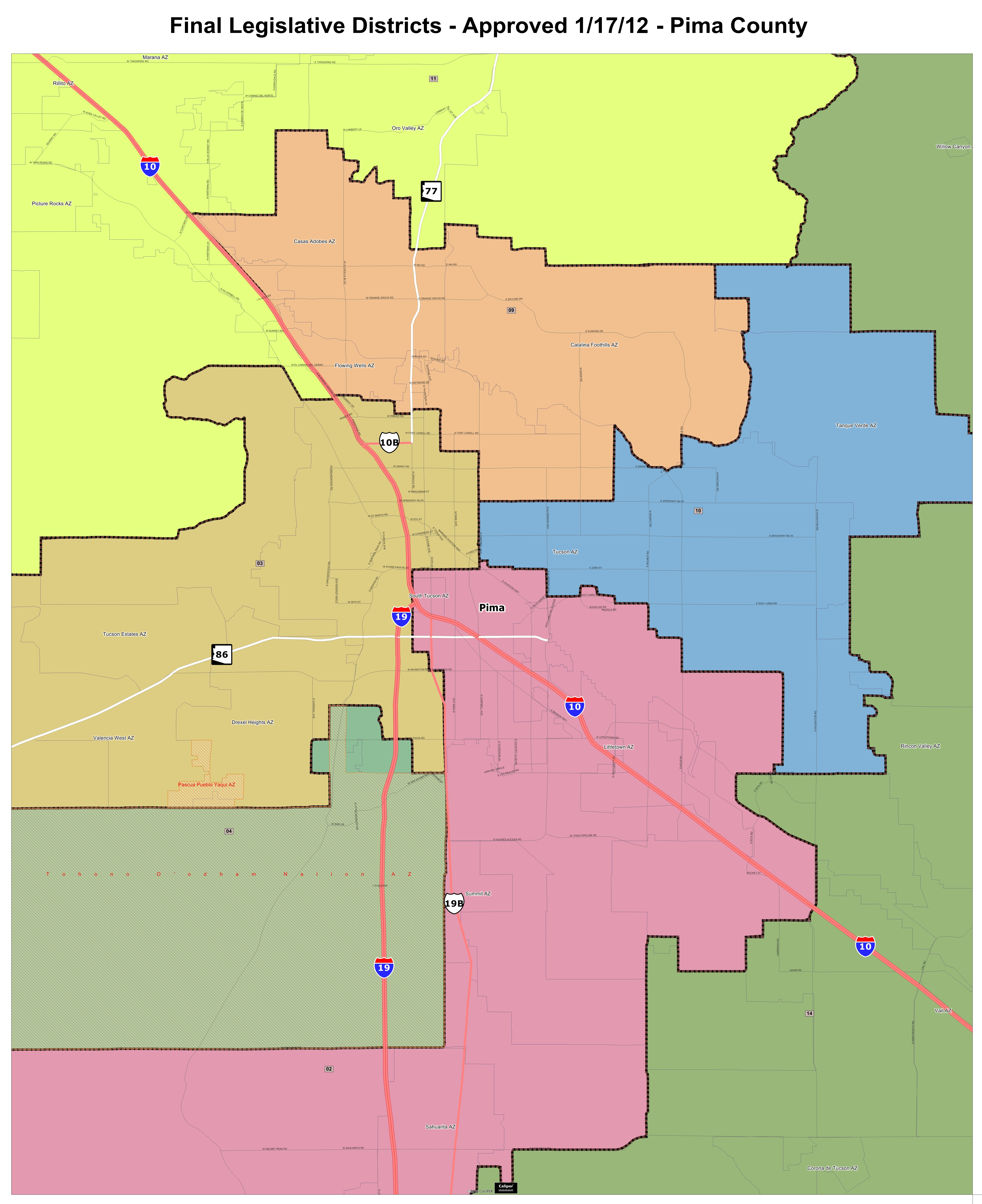Final Maps - Map of florida us house district 16