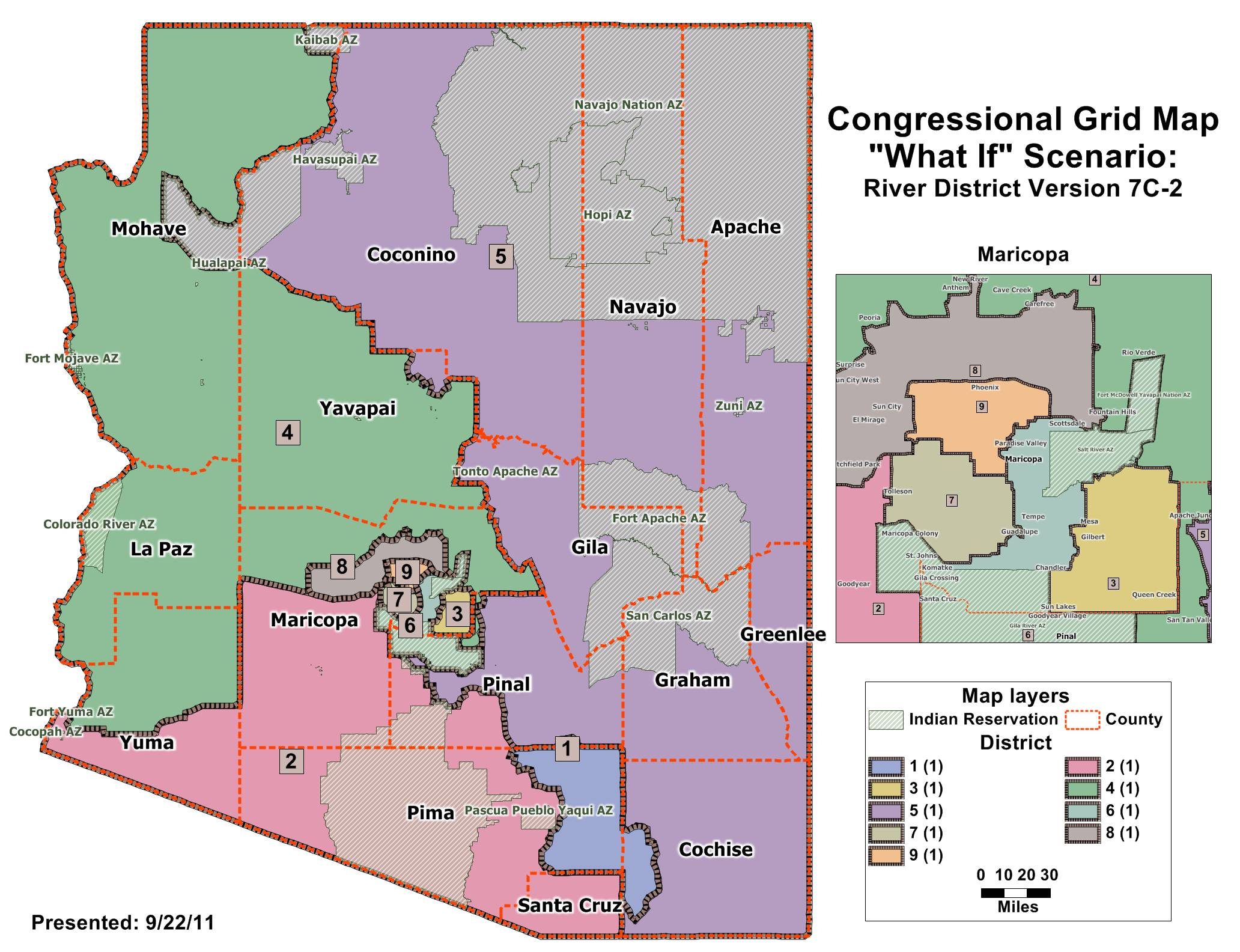 Maps - Colorado us house district map